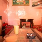 Eclectic interiors of the Bhang Shop