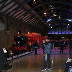 Hogwarts Express in the fabulous recreated Kings Cross Station