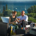 """""""La Vista"""" terrace for special events with breathtaking view of Garda Lake!"""