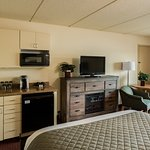 All guest rooms have mini kitchenette