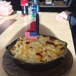 All-American mac and cheese