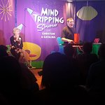 You will have many emotions at the Mind Tripping Show: enjoyment, surprise, stunned silence.