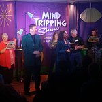 Lots of audience participation in the Mind Tripping Show!