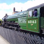 Steam Train in Pickering - 6 miles from Rawcliffe House Farm