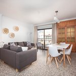 Comedor apartamento de 3 dormitorios sin vista mar