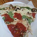 glutenfree special vegan pizza slice SPECIALE