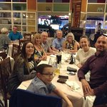 Our family meal at the Capri