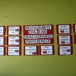 Photo de Restaurante Cha Cha