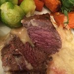 Good pubfor a drink but mid week food was poor. Venison was very over cooked, the mash had been