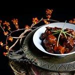 Żeberka w sosie chili