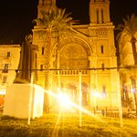 Cathedral at night.