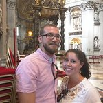 Standing in St. Peter's Basilica