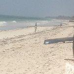 the often deserted beach - loved the rhythm