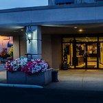 Hotel Porte Cochere Entrance