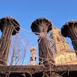 Telas de araña congeladas