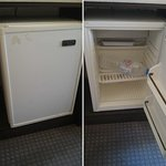 """The """"fridge"""" from the room, in which not even a bottle of water can fit..."""