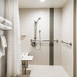 ADA Guestroom Roll-in Shower