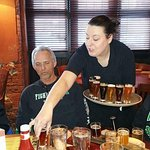 The most AWESOME WAITRESS!