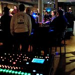 Terrapin Crossroads in San Rafael - Mixer/console and live band