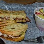 Smoked Turkey & Swiss Panini