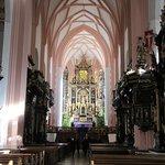 The church's interior.