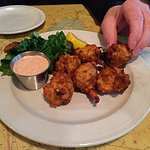 Lobster meat fritters