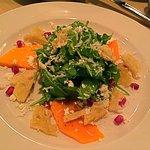 Beautiful and tasty Butternut Squash salad