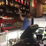 Cheerful Maurizio-the owner