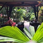 ikatan gardens Santai relaxation area for clients