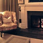 Speckled Sussex - Fireplace