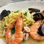 Seafood spghetti, fresh!