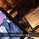 Work hard, play hard.
