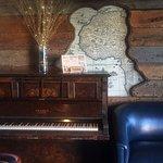 Piano corner, Westwind Pub 4940 Cherry Creek Rd, Port Alberni, British Columbia