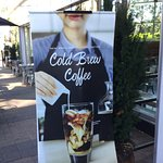 Cold Brew Coffee is now available... but I don't recommend it.