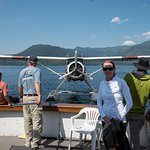 It was a super adventure and the sea plane picked us up for a flight directly from the tour boat