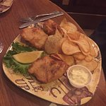 fish and hand cut fried chips
