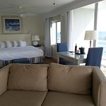 Room 8031 with the ocean view in the background!