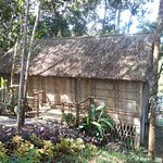 one of the longhouses where you can stay