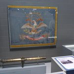 ND State Flag & Spanish War Relic