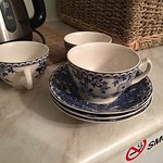Nice English style tea cups