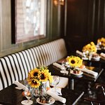 Brunch tables at Henry's