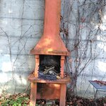 A pizza oven for the summertime