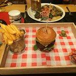 Gatehouse Steakhouse Burger!
