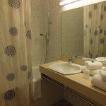 La salle de bain, fonctionnellle