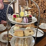 Scones with Clotted Cream, Jam, various Cakes and Pastries'