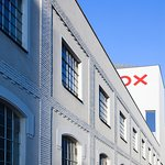 DOX Centre for Contemporary Art from the Poupetova street.