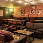 The main bar area, available for hire!