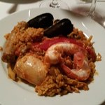 this is just 1/3 of the paella dish