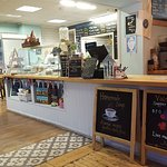 superb oasis in Boscombe. Great staff, tea, space and music. Worth the extra few pennies. proper
