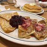 Swedish Ligonberry crepes were not good this time - stale taste probably from being frozen.  The